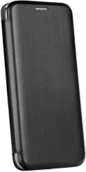 forcell book elegance flip case for samsung xcover 4 black photo