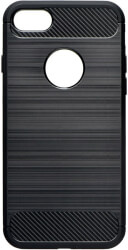 forcell carbon back cover case for samsung galaxy a20e black photo