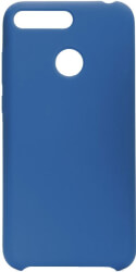 forcell silicone back cover case for huawei y7 2019 blue photo