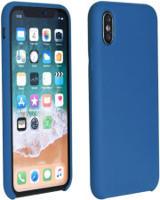 forcell silicone back cover case for samsung galaxy a40 dark blue photo