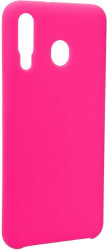 forcell silicone back cover case for samsung galaxy m30 hot pink photo