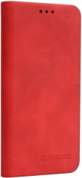 forcell silk flip case for huawei y7 2019 red photo
