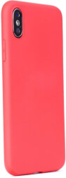 forcell soft magnet back cover case for samsung galaxy a70 red photo