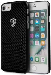 ferrari fehcahci8bk iphone 7 iphone 8 black hard case carbon heritage photo