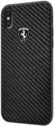 ferrari fehcahcpxbk iphone x iphone xs black hard case carbon heritage photo