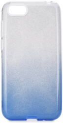 forcell shining back cover case for huawei y5 2019 clear blue photo