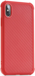 roar armor carbon back cover case for apple iphone xr red photo