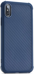 roar armor carbon back cover case for apple iphone xs max blue photo
