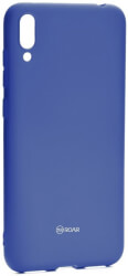 roar colorful jelly back cover case for huawei y7 pro 2019 navy photo