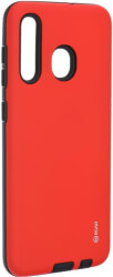 roar rico armor back cover case for samsung galaxy a20 red photo