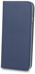 smart magnetic flip case for samsung galaxy a10 navy blue photo
