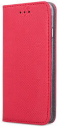 smart magnet flip case for samsung galaxy a10 red photo