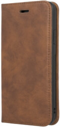 forever gamma 2in1 leather book flip case for samsung galaxy s10 brown photo