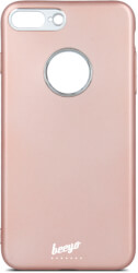 beeyo soft back cover case for samsung galaxy a6 plus 2018 rose gold photo