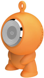 conceptronic cspkbtwphfo wireless bluetooth waterproof speaker orange photo