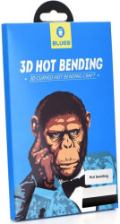 3d mr monkey glass for samsung galaxy note 10 plus black hot bending photo