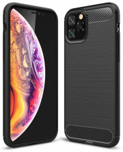 forcell carbon back cover case for apple iphone 11 pro 58 black photo