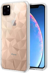 forcell prism back cover case for apple iphone 11 61 clear photo