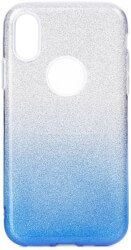 forcell shining back cover case for apple iphone 11 pro max 65 clear blue photo