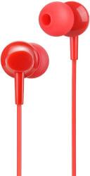 hoco earphones inital sound universal with mic m14 red photo