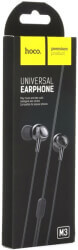 hoco earphones universal with mic m3 black photo