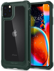 spigen gauntlet back cover case for apple iphone 11 pro 58 hunter green photo