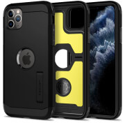 spigen tough armor xp back cover case stand for apple iphone 11 pro max 65 black photo