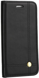 prestige book flip case for xiaomi redmi note 8 black photo