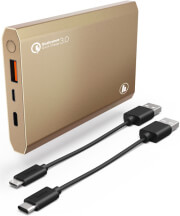 hama 183355 pa12 power pack 12000mah gold photo