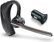 plantronics voyager 5220 bt headset with car charging adapter black photo