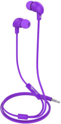 celly in ear stereo hands free up 600 flat cable purple photo