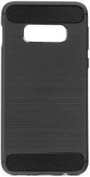 forcell carbon back cover case for samsung galaxy s20 ultra s11 plus black photo