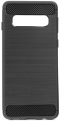 forcell carbon back cover case for samsung galaxy s20 plus s11 black photo