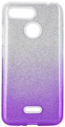 forcell shining back cover case for xiaomi redmi 7a clear violet photo