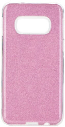 forcell shining back cover case for samsung galaxy s20 s11e pink photo