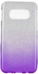 forcell shining back cover case for samsung galaxy s20 s11e clear violet photo