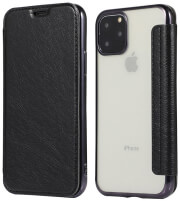 forcell electro book flip case for samsung a40 black photo