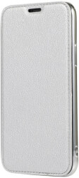 forcell electro book flip case for samsung s10 silver photo