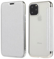 forcell electro book flip case for samsung a51 silver photo