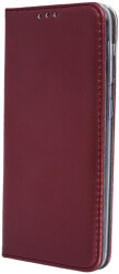 smart magnetic flip case for huawei p20 lite burgundy photo