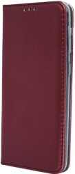 smart magnetic flip case for samsung a50 a30s a50s burgundy photo