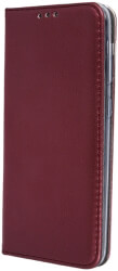 smart magnetic flip case for xiaomi redmi 8a burgundy photo