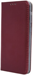 smart magnetic flip case for samsung a71 burgundy photo