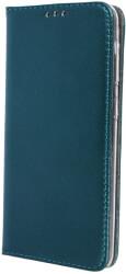 smart magnetic flip case for samsung a71 dark green photo