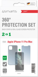 4smarts 360 protection set for apple iphone 11 pro max clear photo