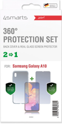 4smarts 360 protection set limited cover for samsung galaxy a10 clear photo