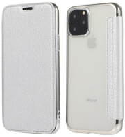 forcell electro book flip case for huawei p40 lite e silver photo