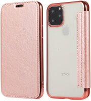 forcell electro book flip case for samsung s10 lite rose gold photo