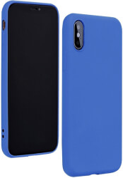 forcell silicone lite back cover case for huawei p40 lite blue photo
