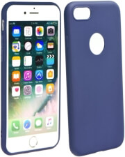 forcell soft back cover case for huawei p40 lite e dark blue photo